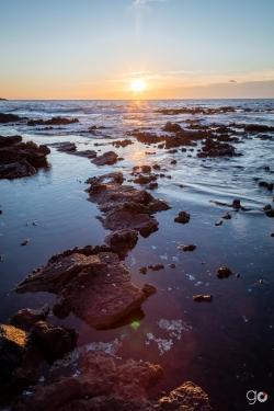 Amanecer en Isla Isabel